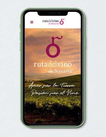 Diseño de páginas web en Pamplona Navarra. Diseño de páginas web para bodegas y otras empresas relacionadas con la enología.