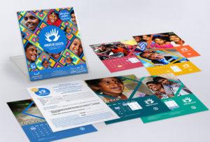 Diseño gráfico calendarios tarjetas de visita logotipos marcas amigos de Calcuta diseño de soportes de publicidad y comunicación corporativa en pamplona