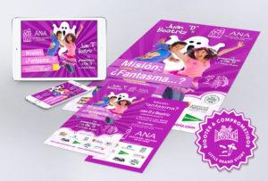 Diseño campaña de publicidad multi soportes comunicación ong asociaciones diseño de carteles flyers graficas de prensa banners online redes sociales Facebook ads adwords