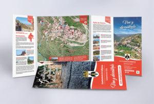 Diseño campañas de publicidad y comunicación de turismo en navarra y país vasco y la rioja Gallipienzo pre pirineo turismo sostenible publicidad veraz