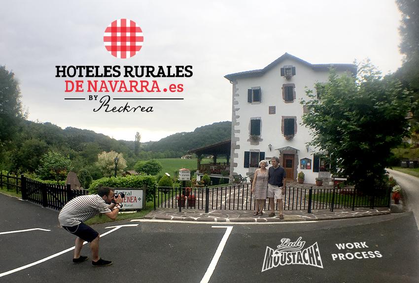 Campañas de comunicación y publicidad para hoteles rurales, fotografía, diseño de página web, trípticos, dípticos y soportes de difusión para establecimientos turísticos, en Pamplona, Navarra, País Vasco y La Rioja.