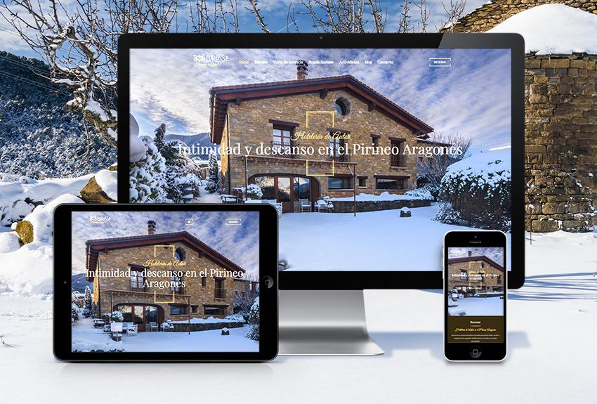Diseño de páginas web para hoteles en navarra pais vasco y aragon diseño web de tu negocio
