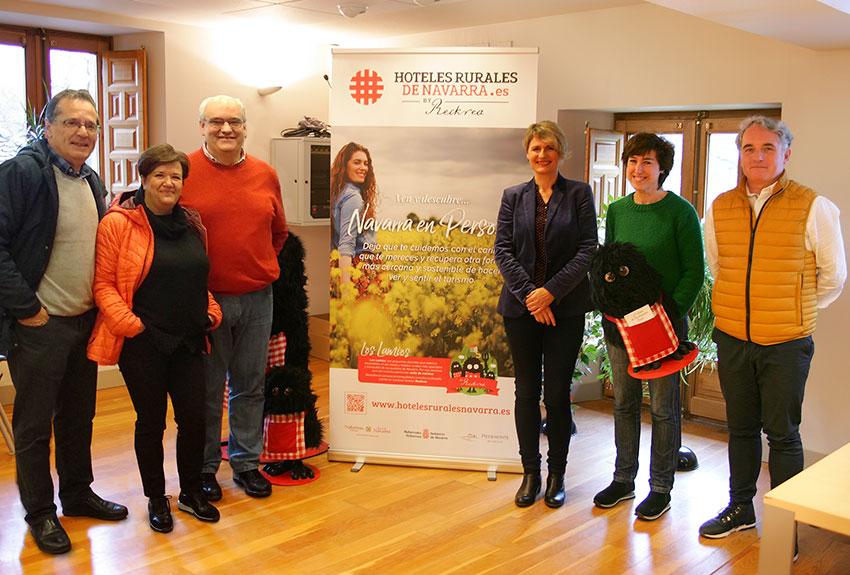 Campaña de comunicación y publicidad de turismo y hoteles rurales de Navarra para asociaciones y entidades públicas reckrea pais vasco y en aragón