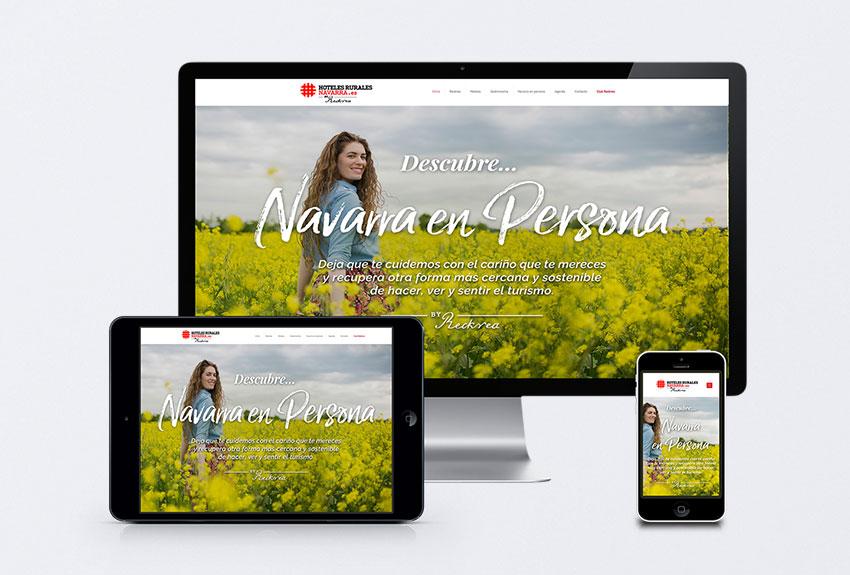 Diseño y desarrollo de paginas web en pamplona navarra estudio de publicidad comunicación y diseño gráfico empresa