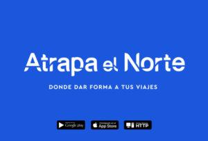 Diseño de marca y nombre y página web en Pamplona navarra estudio de diseño gráfico y comunicación proyecto Atrapa el Norte