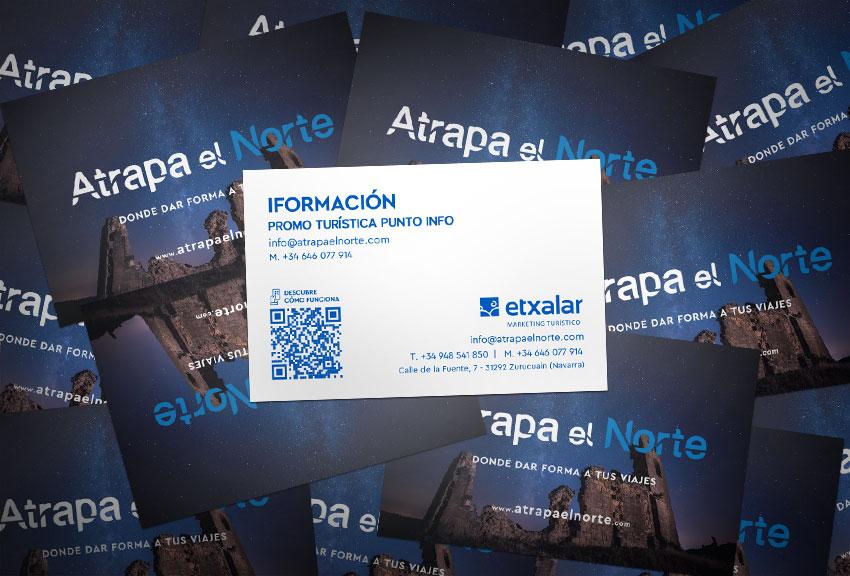 Estudio de diseño gráfico en Pamplona Navarra tarjetas corporativas diseño de logotipos y páginas web