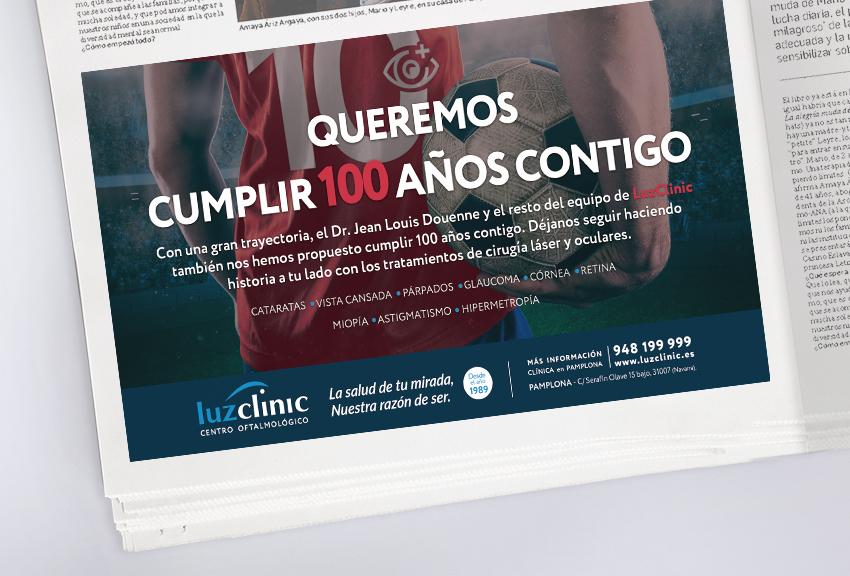 Agencia de publicidad y comunicación en Pamplona Navarra. Organizamos estrategias y diseñamos planes de medios para su empresa campaña en medios tradicionales, prensa, radio y televisión local.