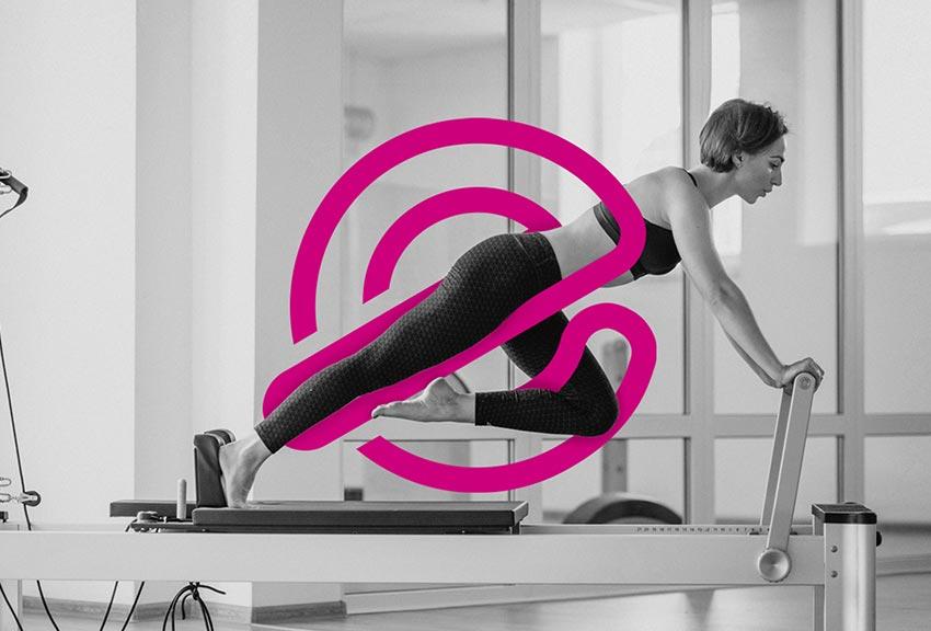 Estudio de diseño gráfico de marcas y logotipos para gyms gimnasios deportivos y pilates y temáticas deportivas, cursos y actividades agencias de comunicación y publicidad en Pamplona Navarra